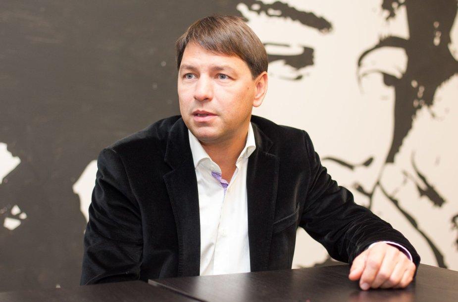 """""""Mineralinių vandenų"""" generalinis direktorius Marijus Cilcius"""