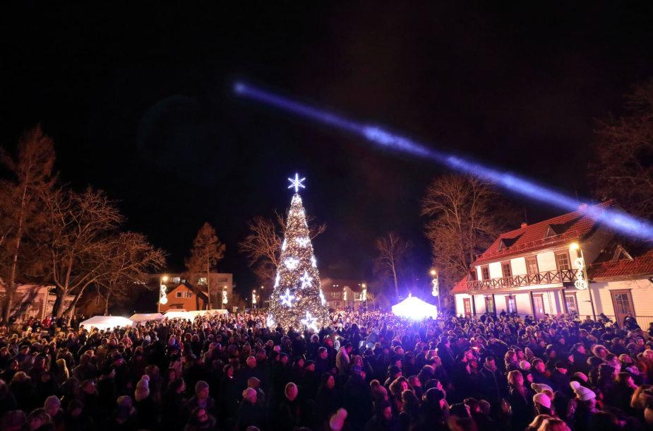 Kalėdos Birštone