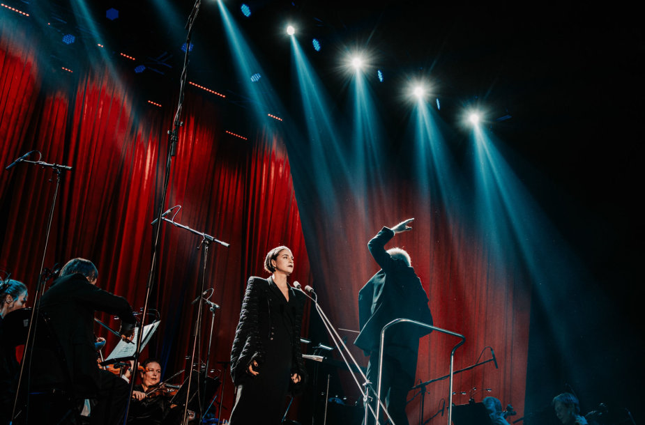 """Asmik Grigorian koncertas """"Žalgirio arenoje"""""""