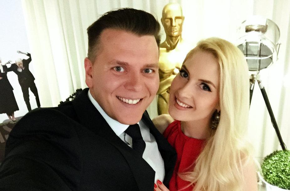 Aleksandras Brokas ir Kristina Ivanova