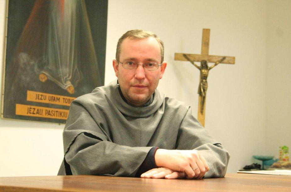 Klaipėdos šv. Brunono Kverfurtiečio parapijos klebonas Stanislavas Švaikovskis