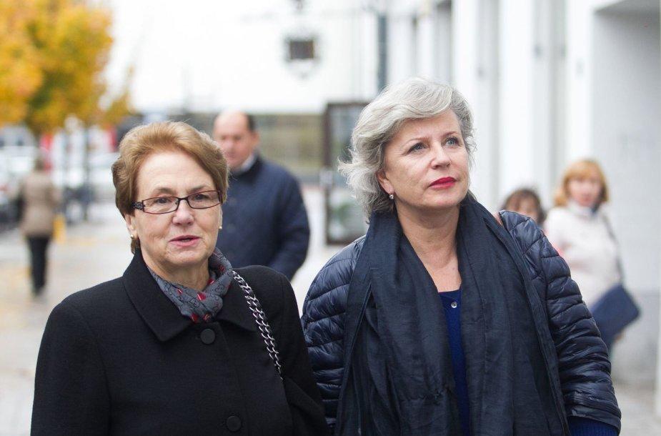 Danuta Walęsa ir Krystyna Janda