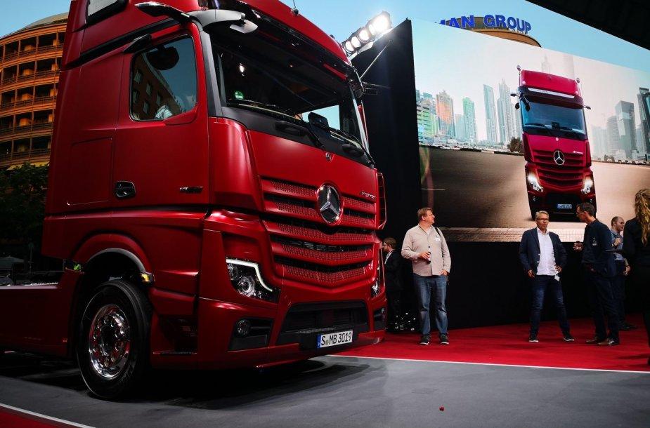 """Mercedes Actros"" pasaulinė premjera Berlyne"