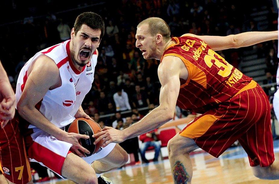 """Galatasaray"" ir ""Crvena Zvezda"" rungtynės"
