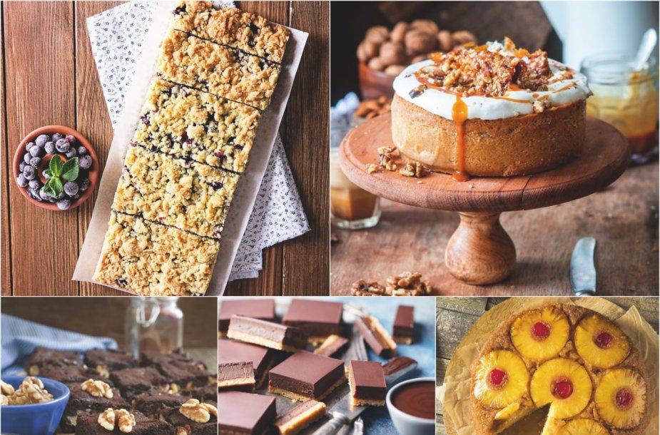 Nuostabių pyragų penketukas