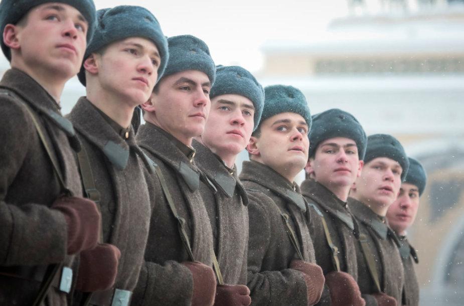 Karinis paradas Sankt Peterburge