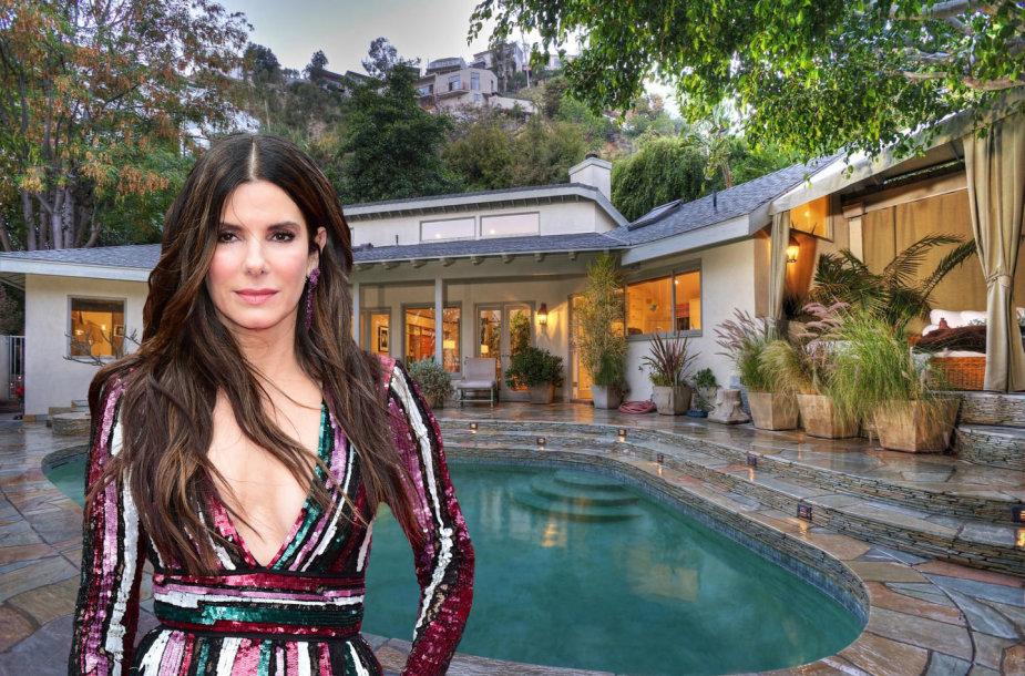 Sandra Bullock parduoda namą už 2,9 mln. dolerių