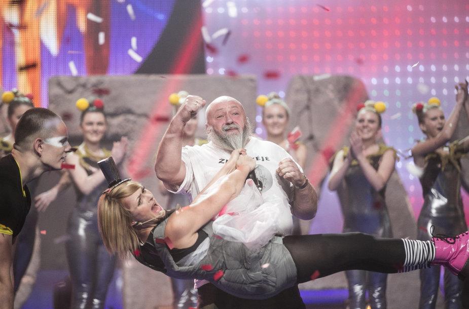 Eglė Jackaitė ir Antanas Kontrimas
