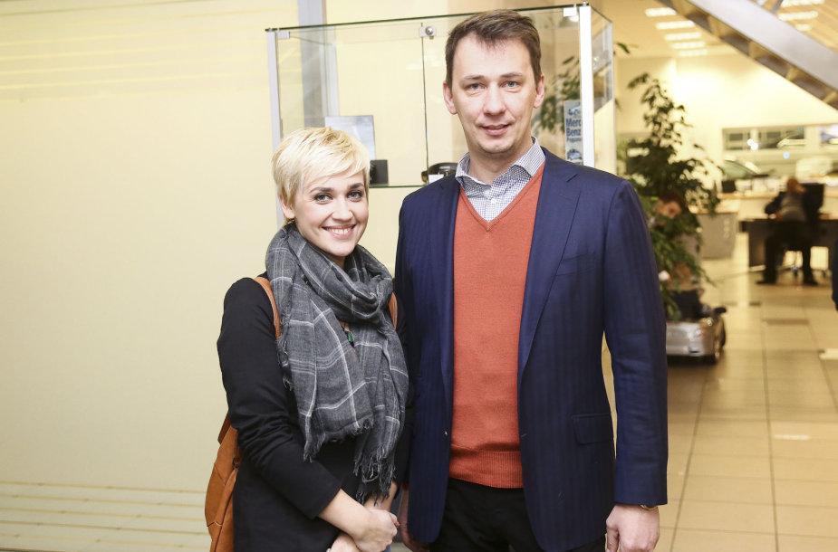 Vytautas Kernagis ir Eglė Kernagytė