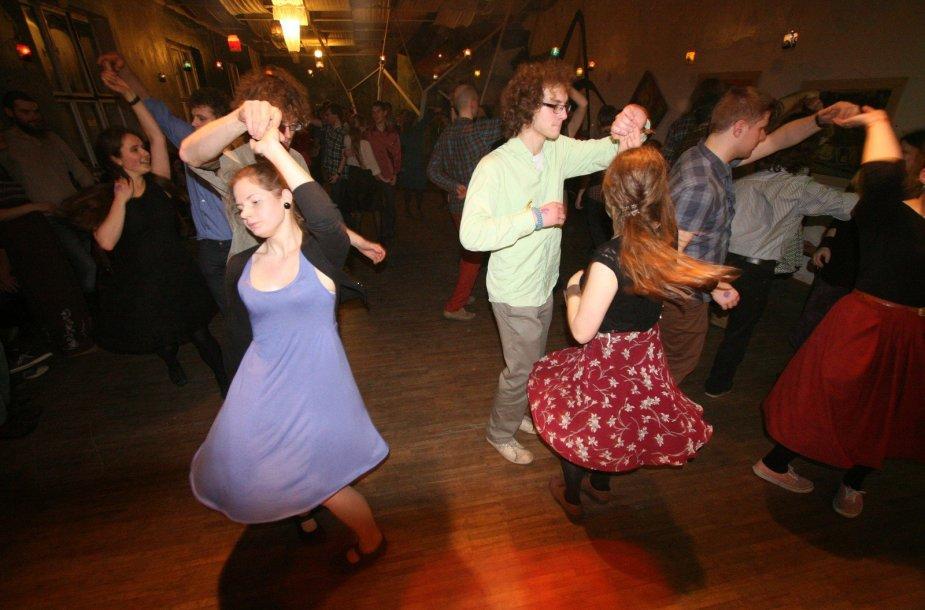 Klaipėdoje Naujųjų naktį – tradiciniai šokiai