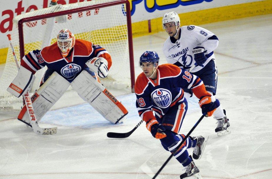 """""""Oilers"""" ledo ritulininkai įveikė Tampos atstovus"""