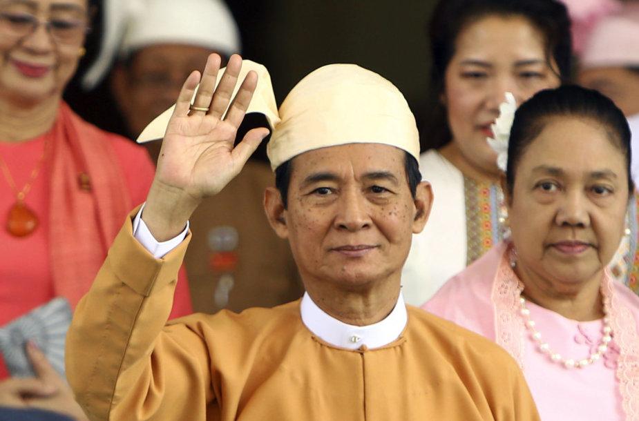 Mianmaro prezidentas Winas Myintas
