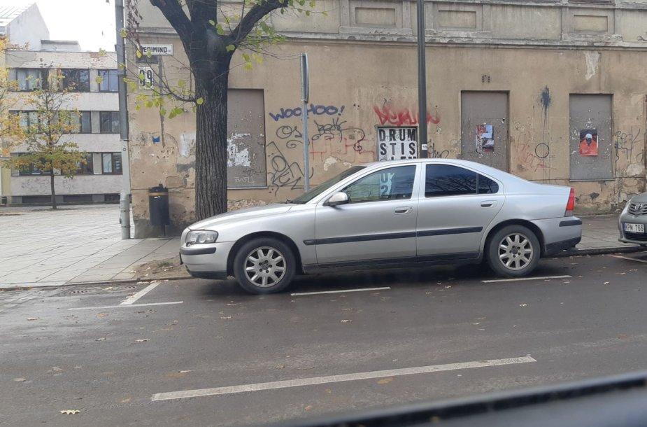 Parkavimo vietos