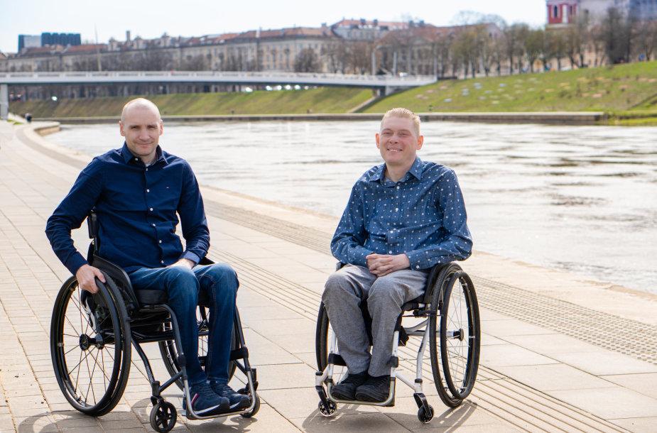 Vaidas Kuliauskas ir Mindaugas Stanevičius