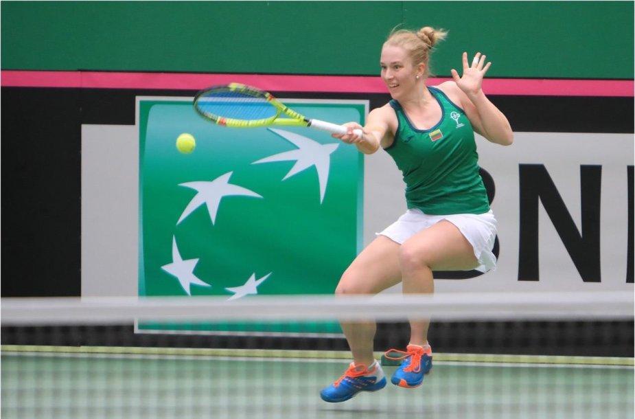 """""""Fed Cup"""": Lietuva - Liuksemburgas"""