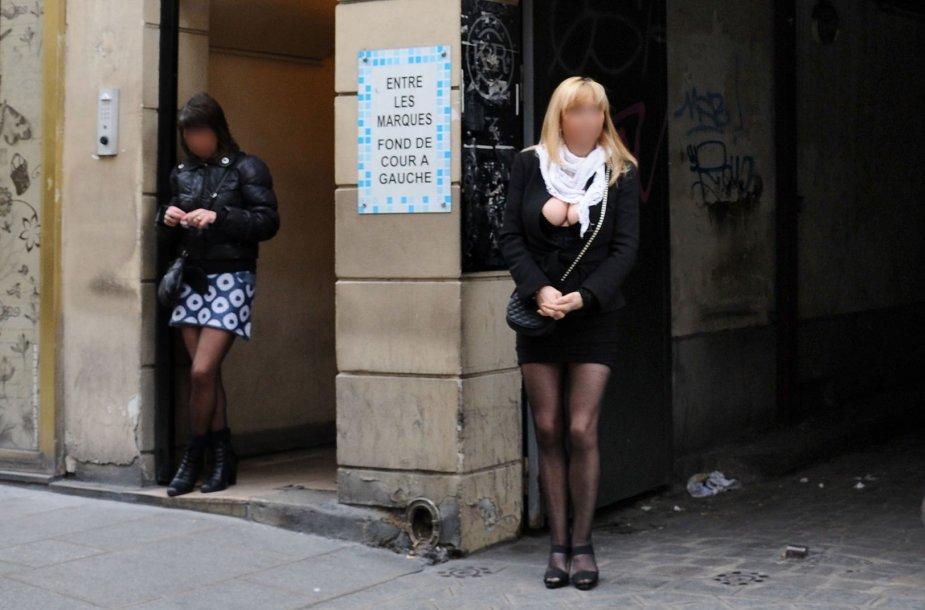 Prostitutės Prancūzijoje