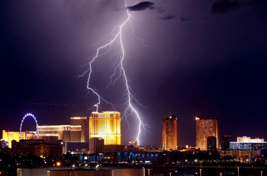 Žaibas Las Vegase