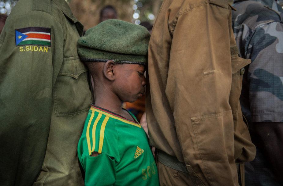 Pietų Sudano sukilėlių pagrobtas vaikas