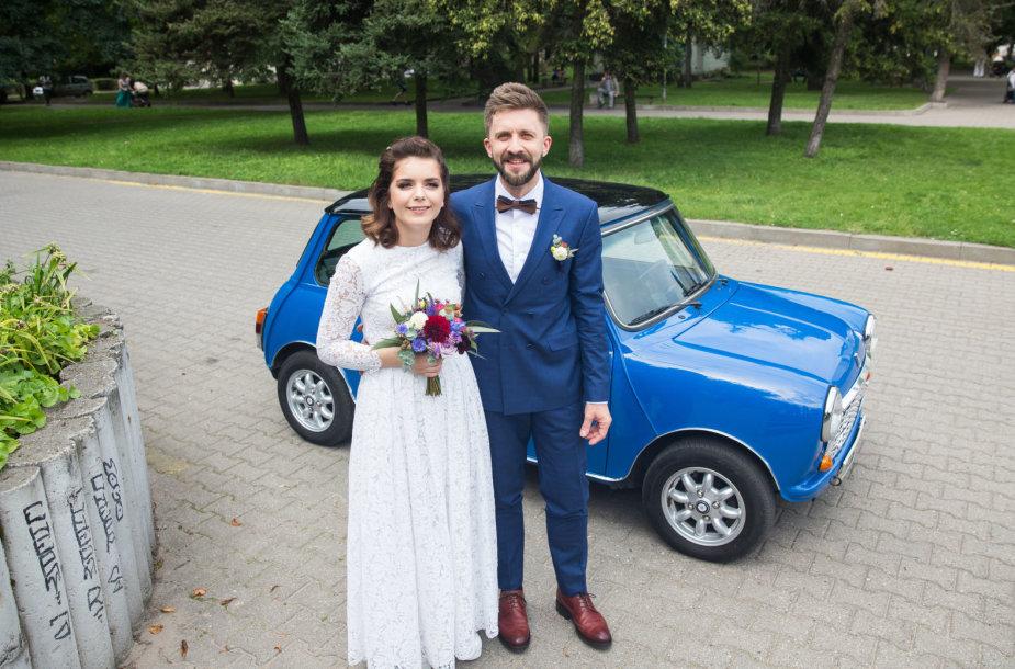 Menininkės Jolitos Vaitkutės ir Silvestro Dikčiaus vestuvės