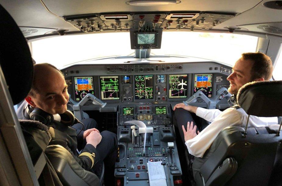 Lenkijos avialinijos pristato naują lėktuvų reisą į Londono miesto aerouostą