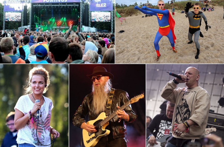 2013 metų festivaliai