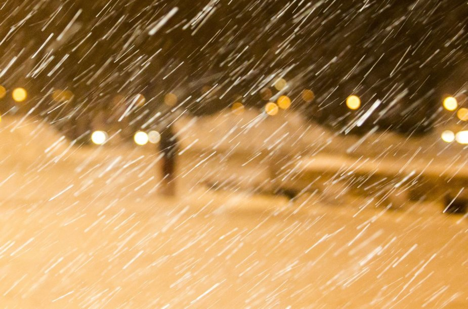 Vilniuje šeštadienio vakarą – nepavydėtinas oras