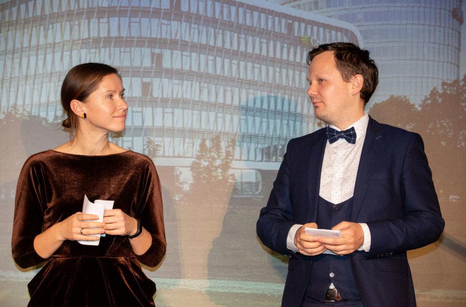 Rėda Brandišauskienė ir Martynas Norbutas