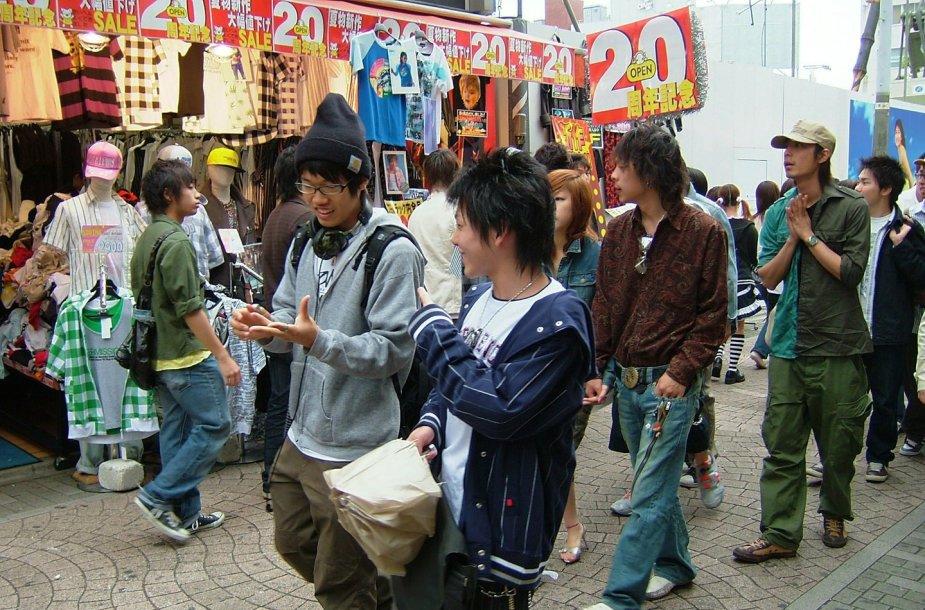 Japonijos raktiniai žodžiai pasikeičia nuvykus į šią šalį