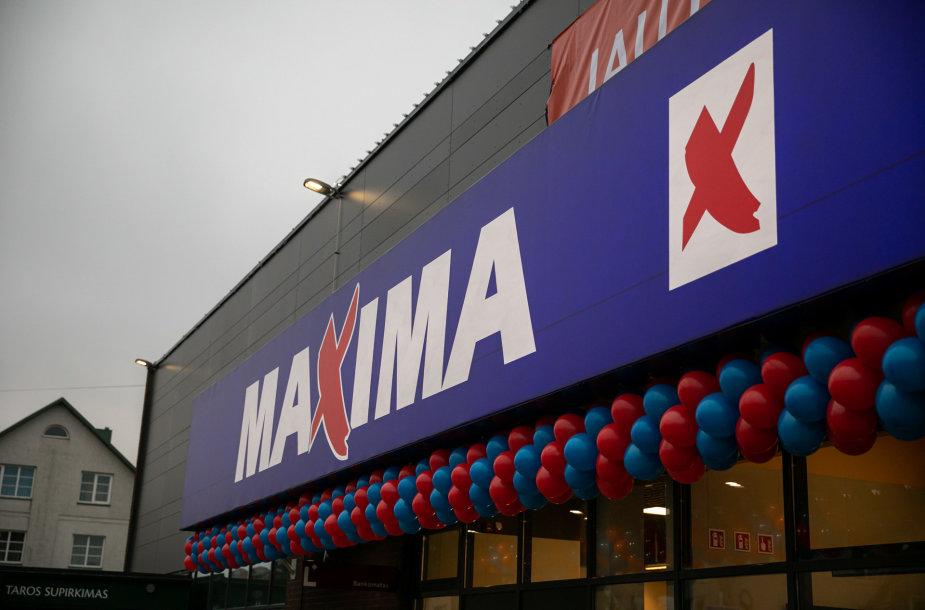 """Šakiuose duris atvėrė atnaujinta """"Maxima"""""""