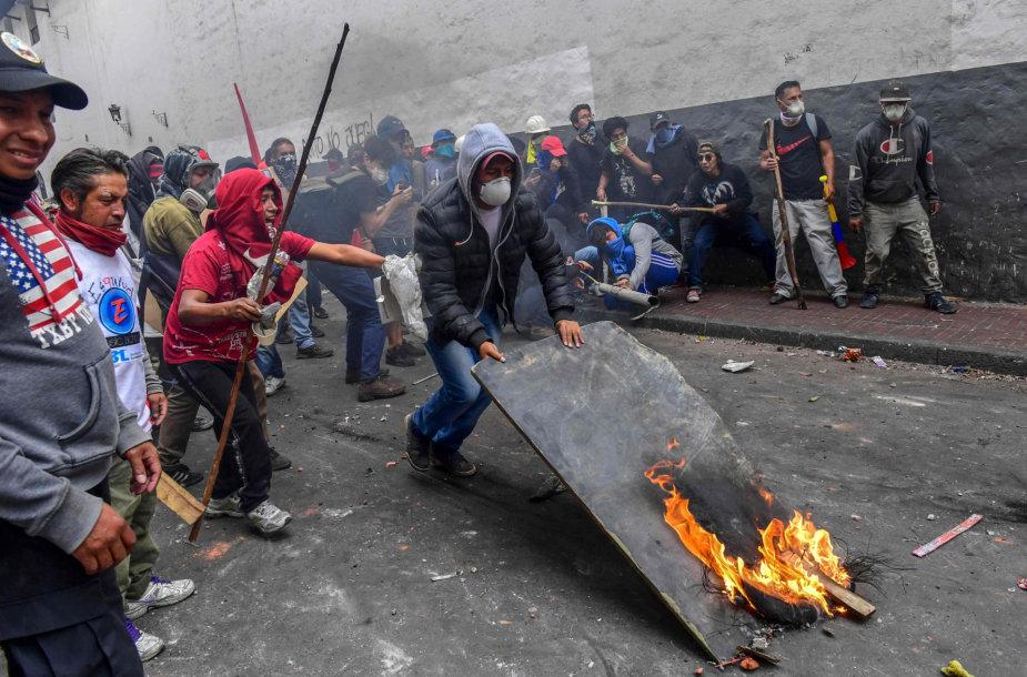 Protestas Ekvadore
