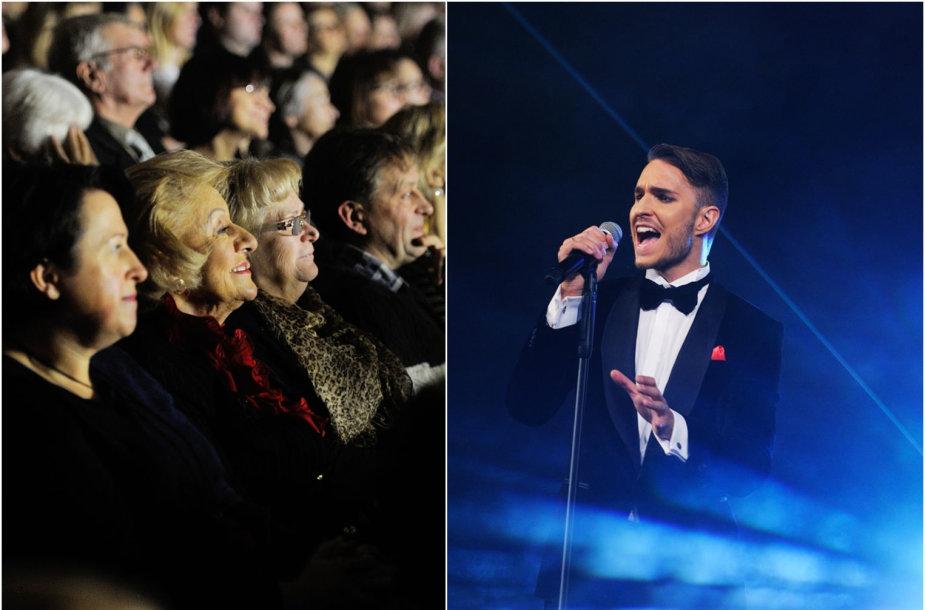 Martyno Kavaliausko koncerto akimirka, o tarp svečių – ir Jūratė Norvaišienė