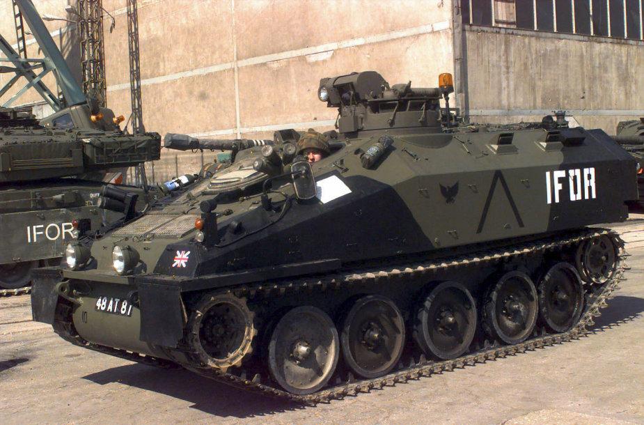 Šarvuotas automobilis FV103 Spartan