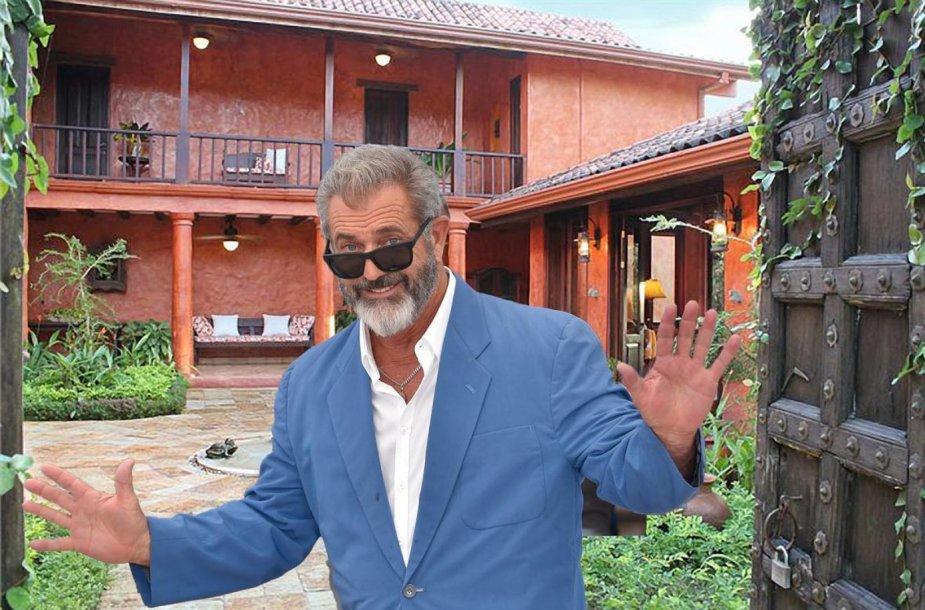 Melas Gibsonas parduoda vilą Kosta Rikoje