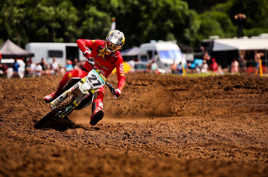 Arminas Jasikonis, Lietuvos motokroso čempionato etapas Mickūnų MX trasoje