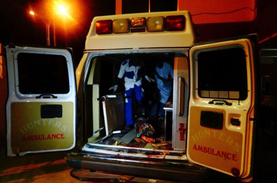 Mirtininkės susisprogdino Nigerijoje