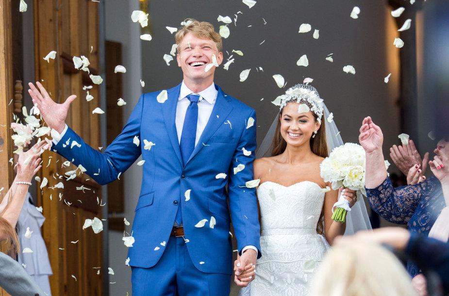Mindaugo Kuzminsko vestuvės