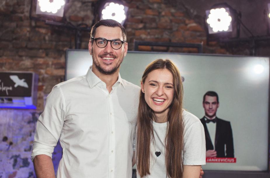Justinas Jankevičius ir Ieva Zasimauskaitė