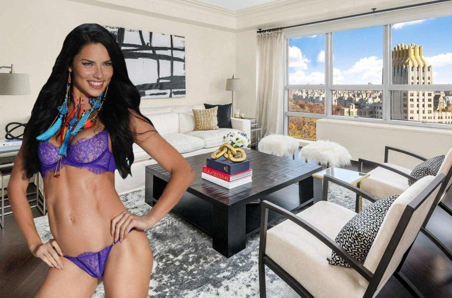 Adrianos Limos apartamentai Niujorko dangoraižyje
