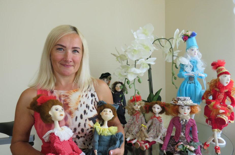 Ingridos Vaitiekūnienės lėlės