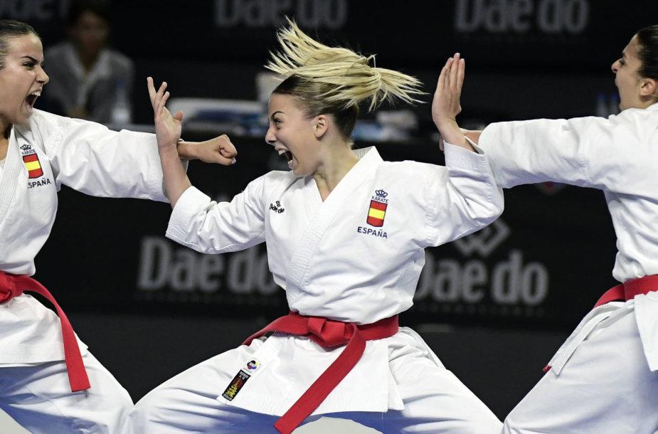 Madride vyko olimpinio karatė pasaulio čempionatas