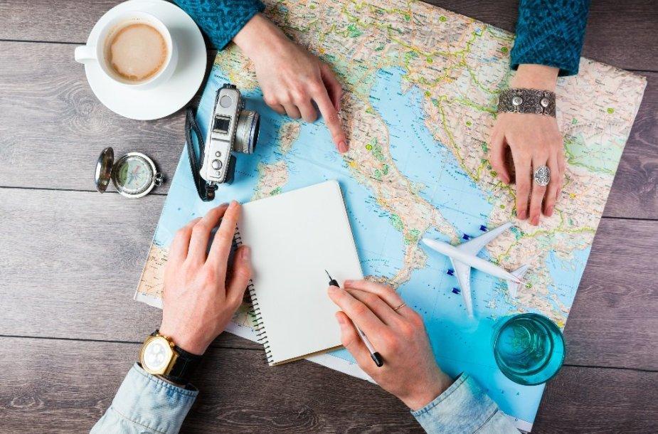 Planuojant keliones iš anksto galima išvengti daug bereikalingų rūpesčių