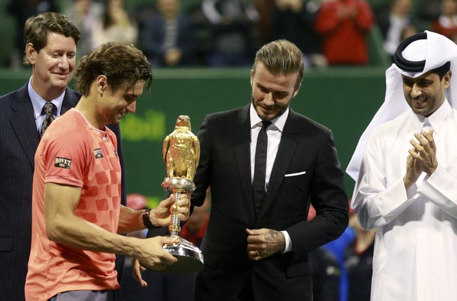 Davidas Ferreras ir Davidas Beckhamas