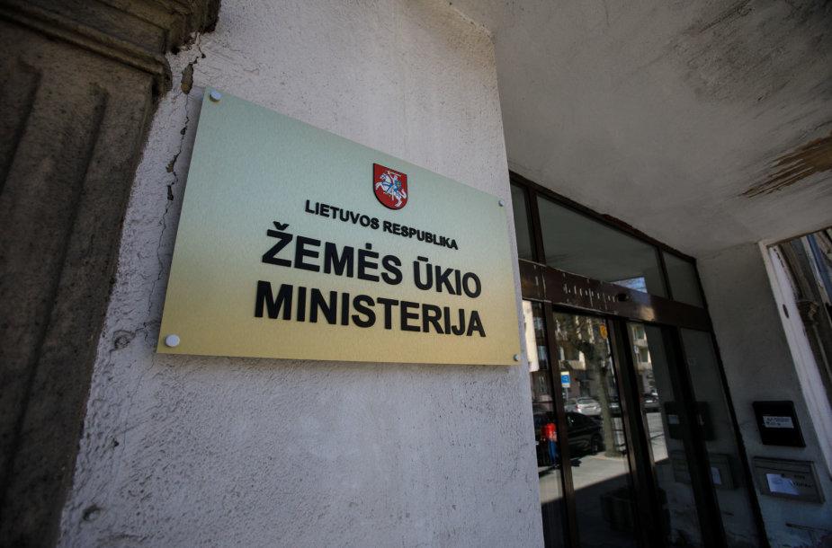 Žemės ūkio ministerijos patalpos