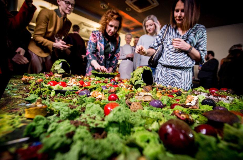 """Festivalio """"Kino pavasaris"""" kulinarinių filmų pristatymas"""