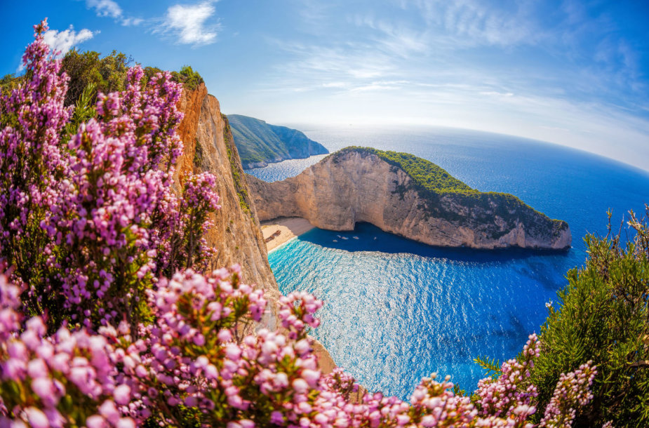 Geriausias Europoje – Navagio paplūdimys Graikijoje