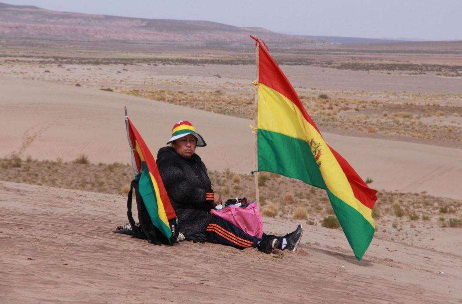 Bolivijoje Dakaras sutinkamas ypač šiltai
