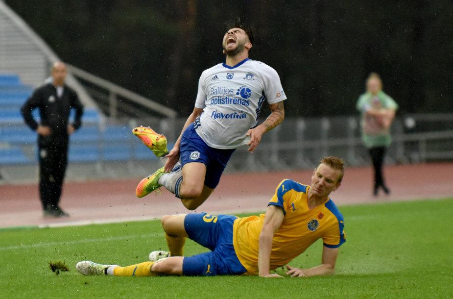 """Utenos """"Utenio"""" ir Klaipėdos """"Atlanto"""" mačas baigėsi 1:1."""