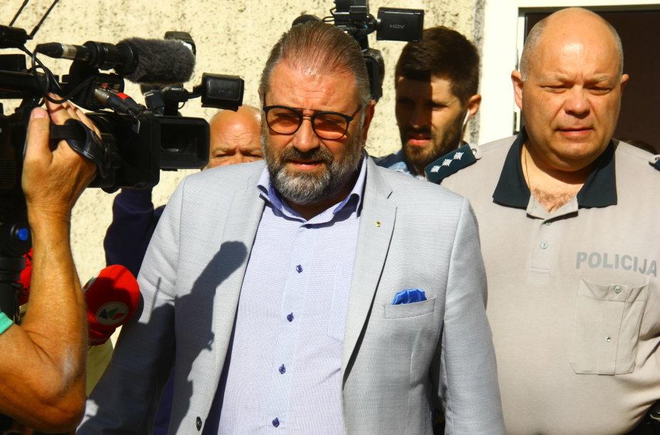 Panevėžio miesto meras teisme
