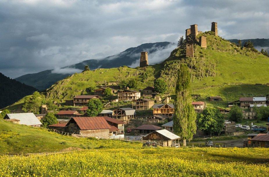 Kaukazo kalnai, Gruzija