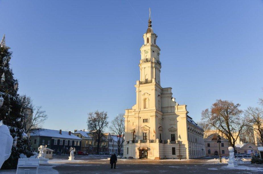 Rotušė, kuriame įsikūręs Kauno miesto muziejus